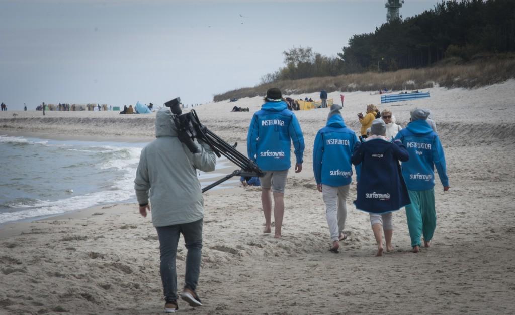 film promocyjny szkoły kitesurfingu Surferownia