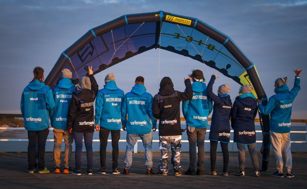 instruktorzy kitesurfingu