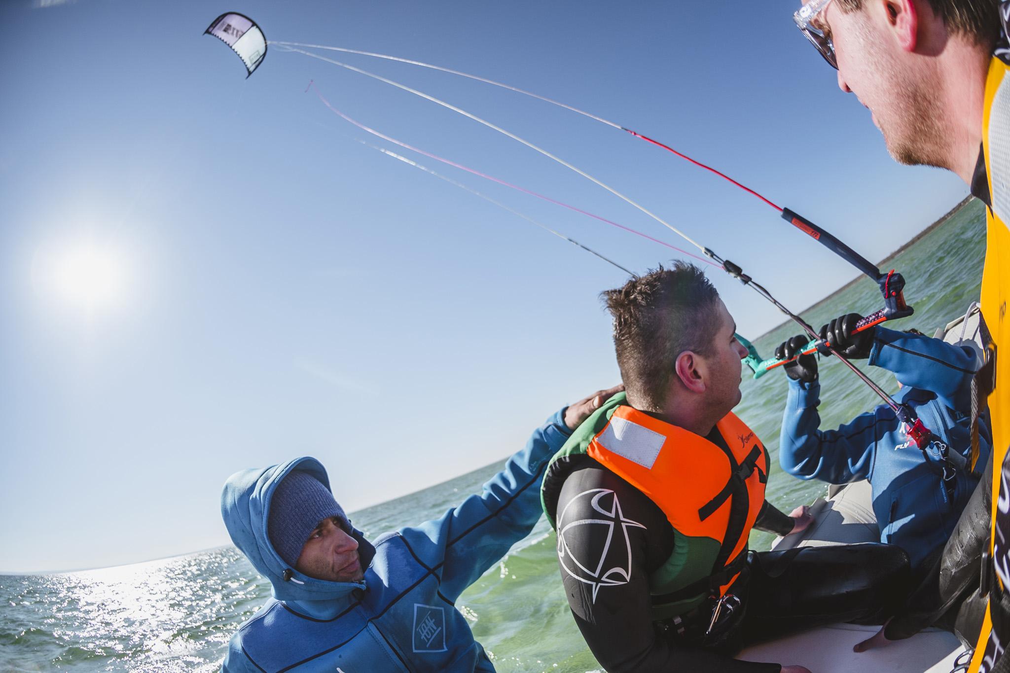 kitesurfing surferownia woda